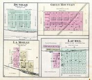 Dunbar, Green Mountain, La Moille, Laurel, Marshall County 1885
